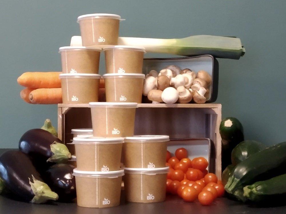 Liter Huisgemaakte Soep Met 9-granen Brood & Kruidenboter